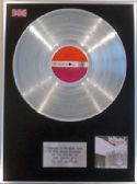 LED ZEPPELIN - LP Platinum Disc - LED ZEPPELIN 11 with Atlantic plum lable